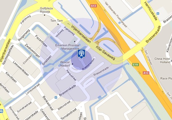 Google Maps icons and circles revisited   Servicelab org
